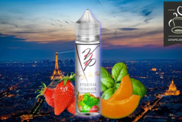 REVUE / TEST : Fraise Melon Basilic (Gamme Eternal Summer) par Vaping in Paris