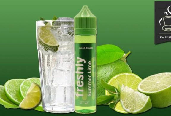REVUE / TEST : Summer Lime (Gamme Freshly) par Bobble