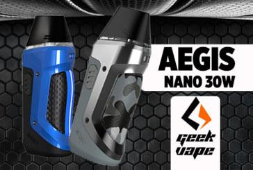 BATCHINFO: Aegis Nano 30W (Geekvape)