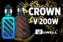 מידע על אצווה: כתר V 200W (Uwell)