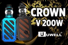 BATCH INFO: Crown V 200W (Uwell)
