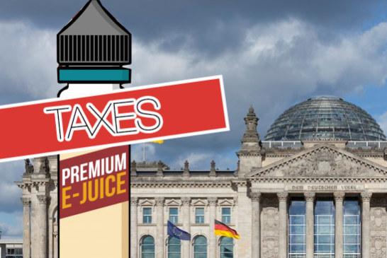 ГЕРМАНИЯ: Вейпинг будет облагаться налогом с 2022 года после утверждения Бундестагом.
