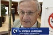 ЗДОРОВЬЕ: Профессор Даутценберг будет против электронных сигарет в тот день, когда курильщиков больше не будет.