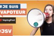 ΚΙΝΗΤΟΠΟΙΗΣΗ: Το «Vaping Post» υποστηρίζει την πρωτοβουλία «#jesuisvapoteur»