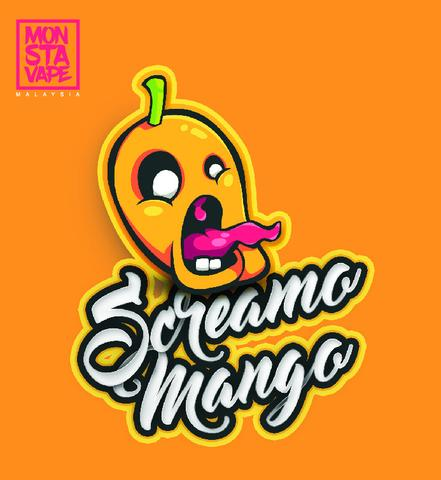 Monsta Vape Screamo Mango e liquid