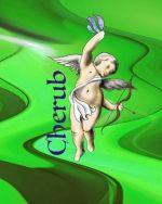 Neon Green Cherub E Liquid
