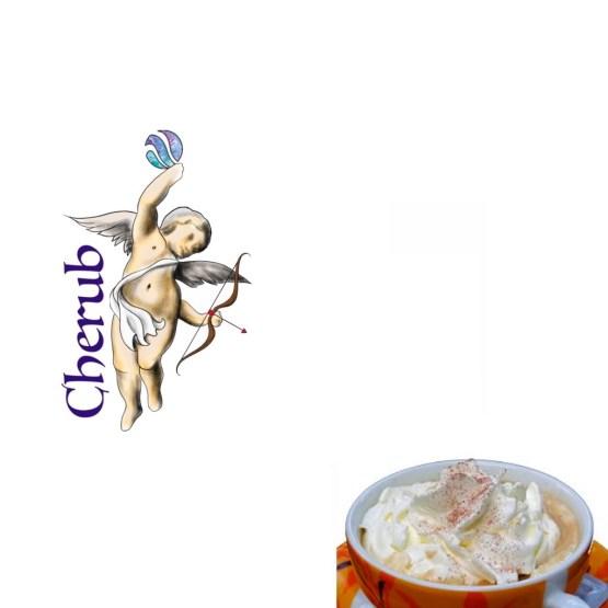 Vanilla Cappuccino Cherub E Liquid Juice