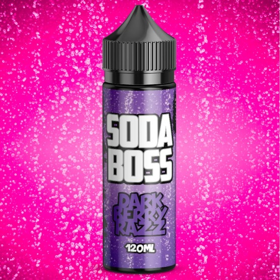 Soda Boss Dark Berry Razz 100ml short fill e liquid