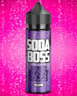 Soda Boss Dark Berry Razz 100ml short fill e liquid