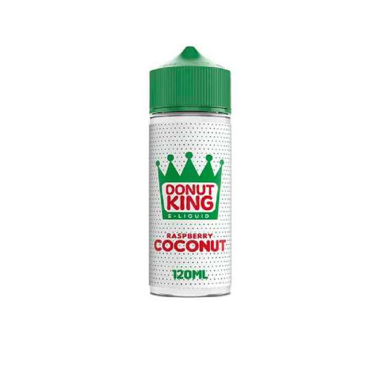 Donut King Raspberry Coconut 120ml Short Fills