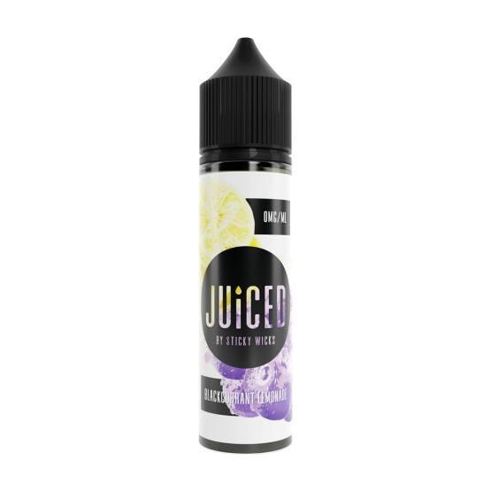 Juiced Blackcurrant Lemonade 50ml Short Fill E Liquid