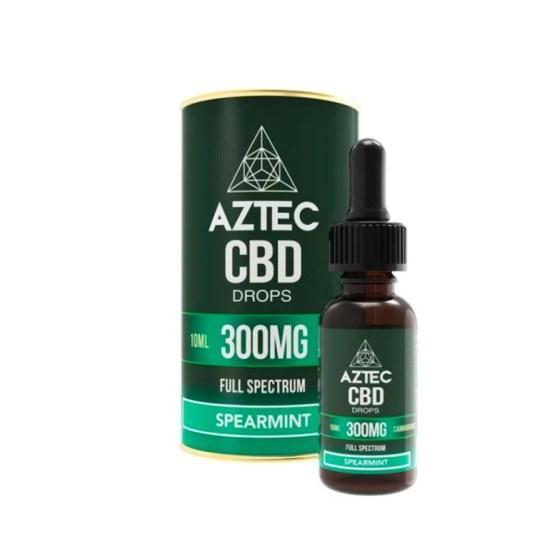 Aztec Spearmint cbd drops