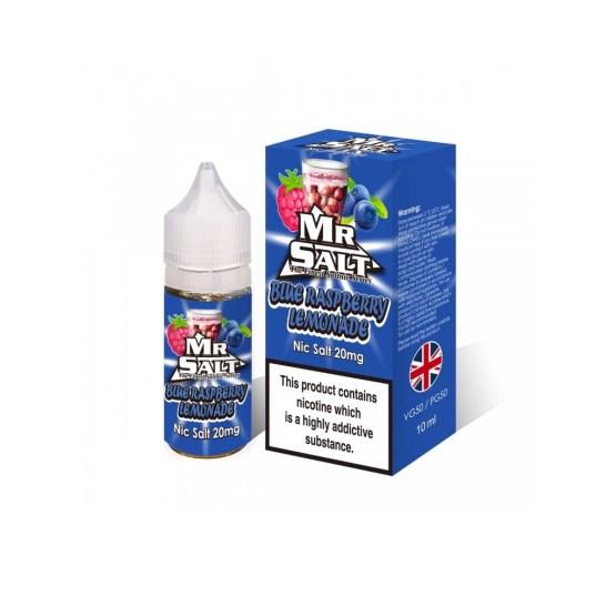 Mr Salt Blue Raspberry Lemonade 10mg 20mg e liquids