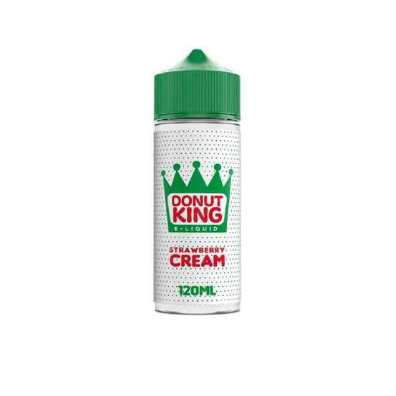 Donut King Strawberry Cream 120ml Short Fills