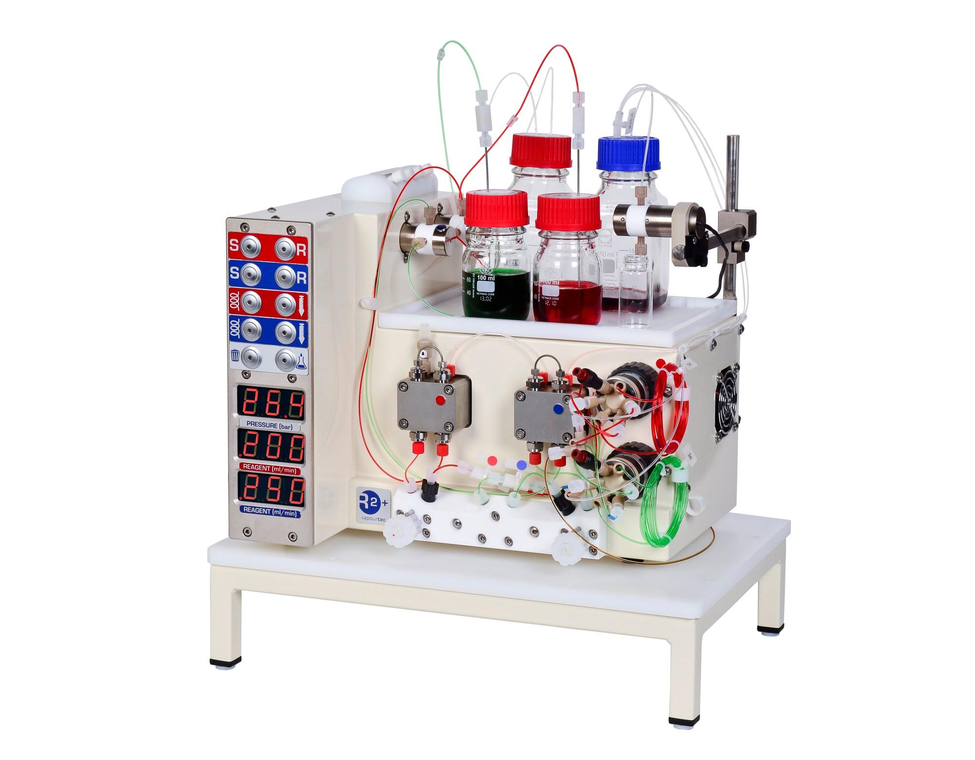 hight resolution of r2 single flow chemistry pump module