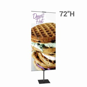 Promo Banner Stand