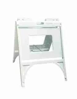 "Signicade Quik Frame w/ 24"" x 18"" 4mm Coroplast"