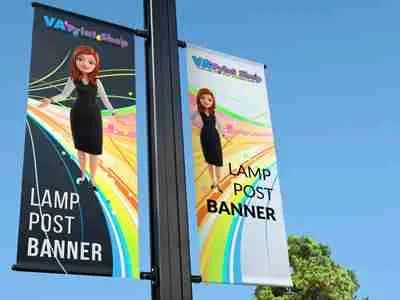 Vinyl Banners with Pole Pockets