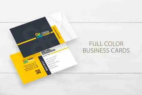 Full color business cards 14pt or 16pt stock va print shop business cards colourmoves