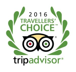 Travallers Choice 2016 Tripadvisor