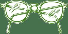 green_eyeglasse