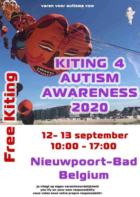 Kiting 4 autism awareness