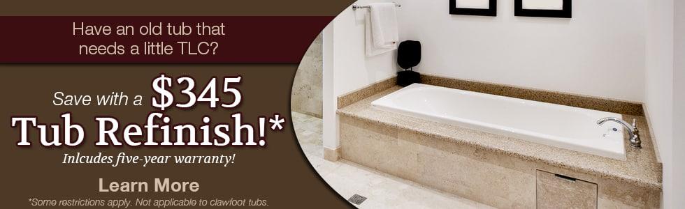 Virginia Restoration Services  Bathtub Refinishing