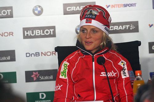 Therese Johaug er allerede best i verden!