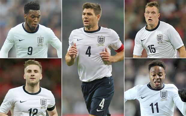 VM i Brasil- Her er Englands tropp