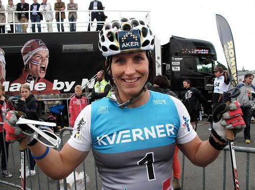 Marit Bjørgen med perfekt start i Tour de Ski