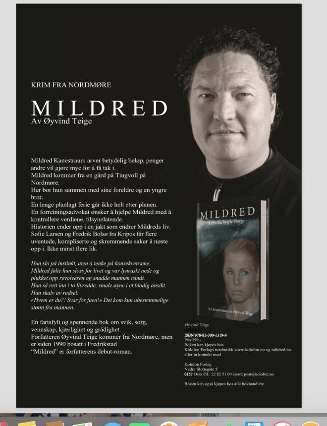 «MILDRED» er endelig tilgjengelig!
