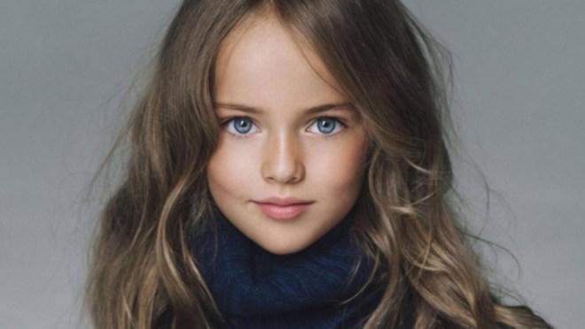Kristina Pimenova (10) fotomodell – mest søkt på nettet