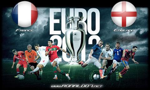 Frankrike – England en gang en kamp mellom giganter