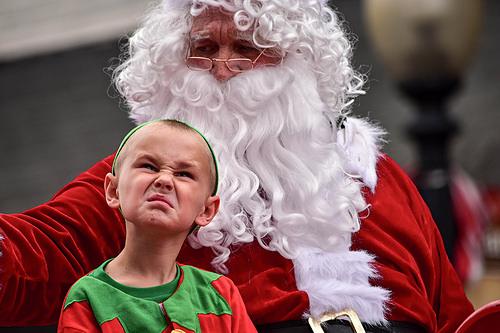 Julenissen får ikke ha barn på fanget …