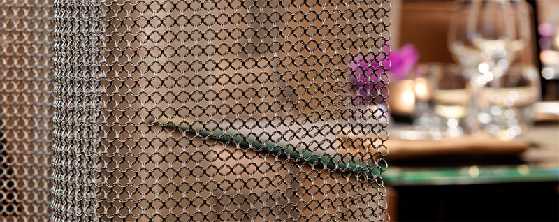 CHAIN MAIL CURTAINS UK
