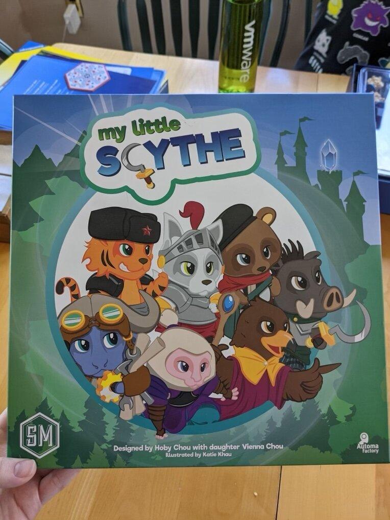 My Little Scythe Game Box