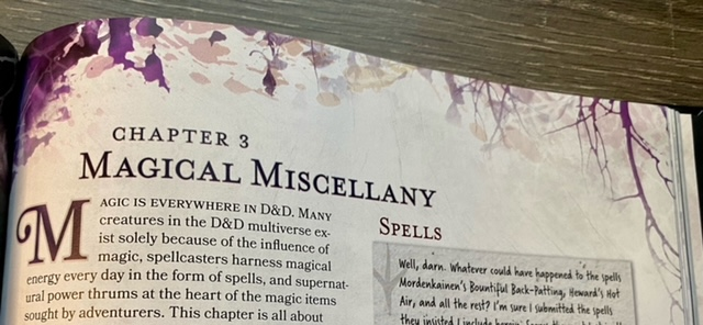 Chapter 3 Magic Miscellany