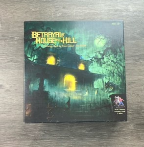 Game box for Betrayal at House on the Hill