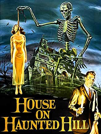 Cover Art for House on Haunted Hill 1959
