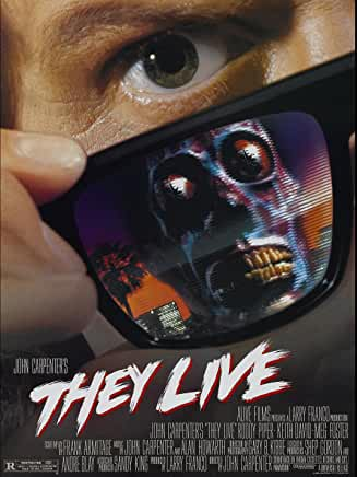 Cover art for They Live 1988