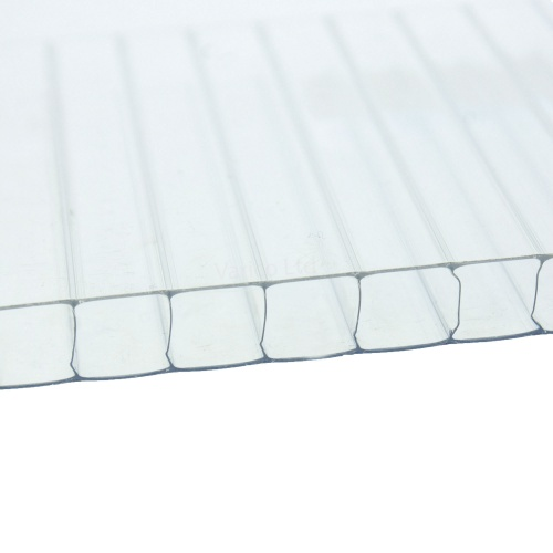 Twinwall Polycarbonate 10mm Thick Clear