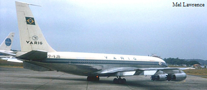 varig boeing 707 420