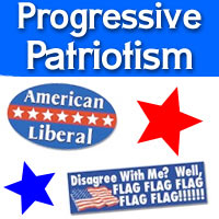Progressive Liberal Posters and Bumper Stickers