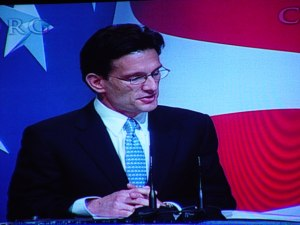 Eric Cantor at CPAC 2010