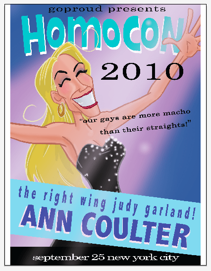 coulter gays Ann on