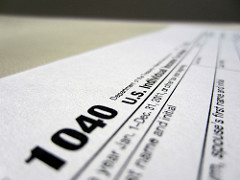 tax returns photo