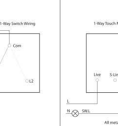 1 way switch to touch dimmer conversion wiring [ 4500 x 2531 Pixel ]