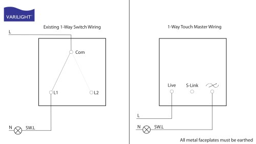 small resolution of 1 way switch to touch dimmer conversion wiring
