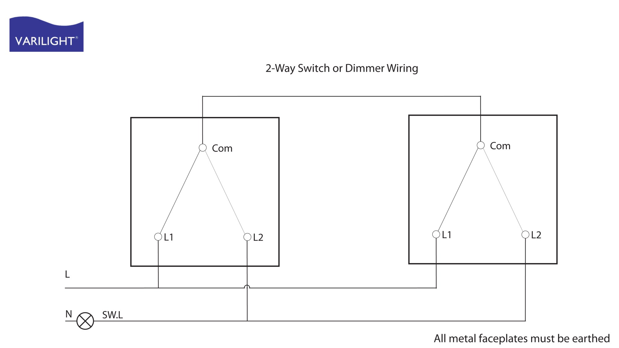 hight resolution of 2 way switch dimmer wiring
