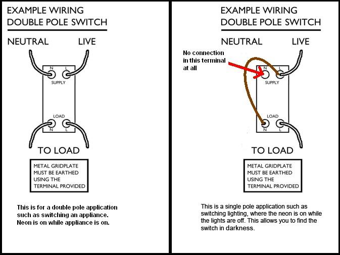 fuse switch wiring diagram 4 flat trailer varilight diagrams 20a as a nightlight